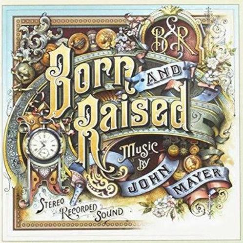 JOHN MAYER - BORN AND RAISED CD