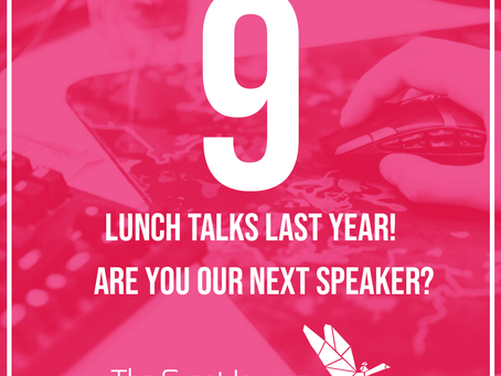 New speakers for Digital Lunch Talks!
