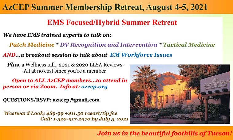AzCEP Summer Membership Retreat