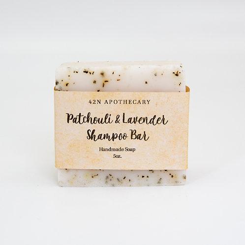 Patchouli & Lavender Shower Bar