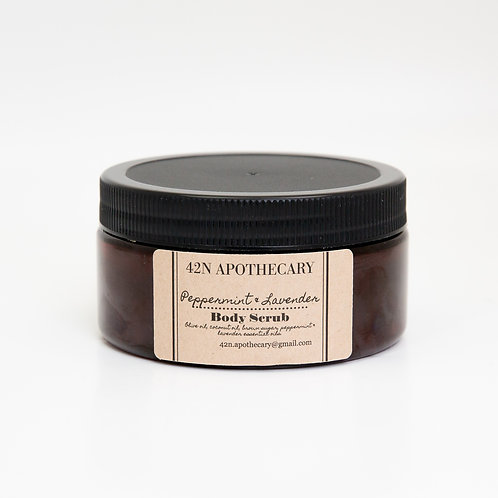 8oz. Peppermint-Lavender Body Scrub