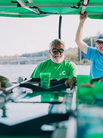 SW Michigan Cycleboat_Leo + Laine_Saint