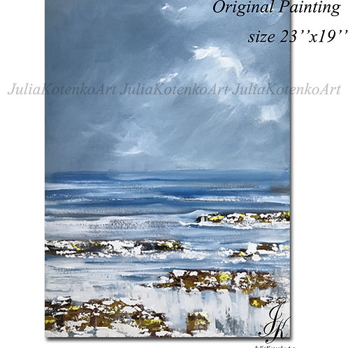 Abstract Oil Painting Texture Painting