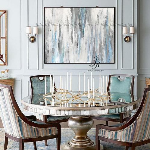 Abstract Painting, Large Wall Art, Textured Art on Canvas by Julia Kotenko