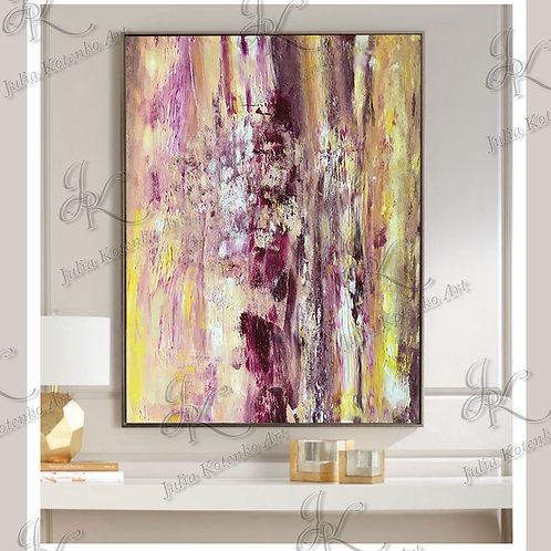 Original Abstract Oil Painting on canvas by Julia Kotenko