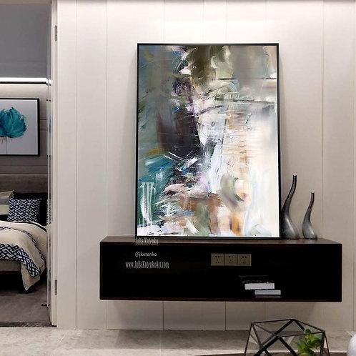 Original Abstract Painting, Large wall art, Oil Painting Original, Modern Art by Julia Kotenko