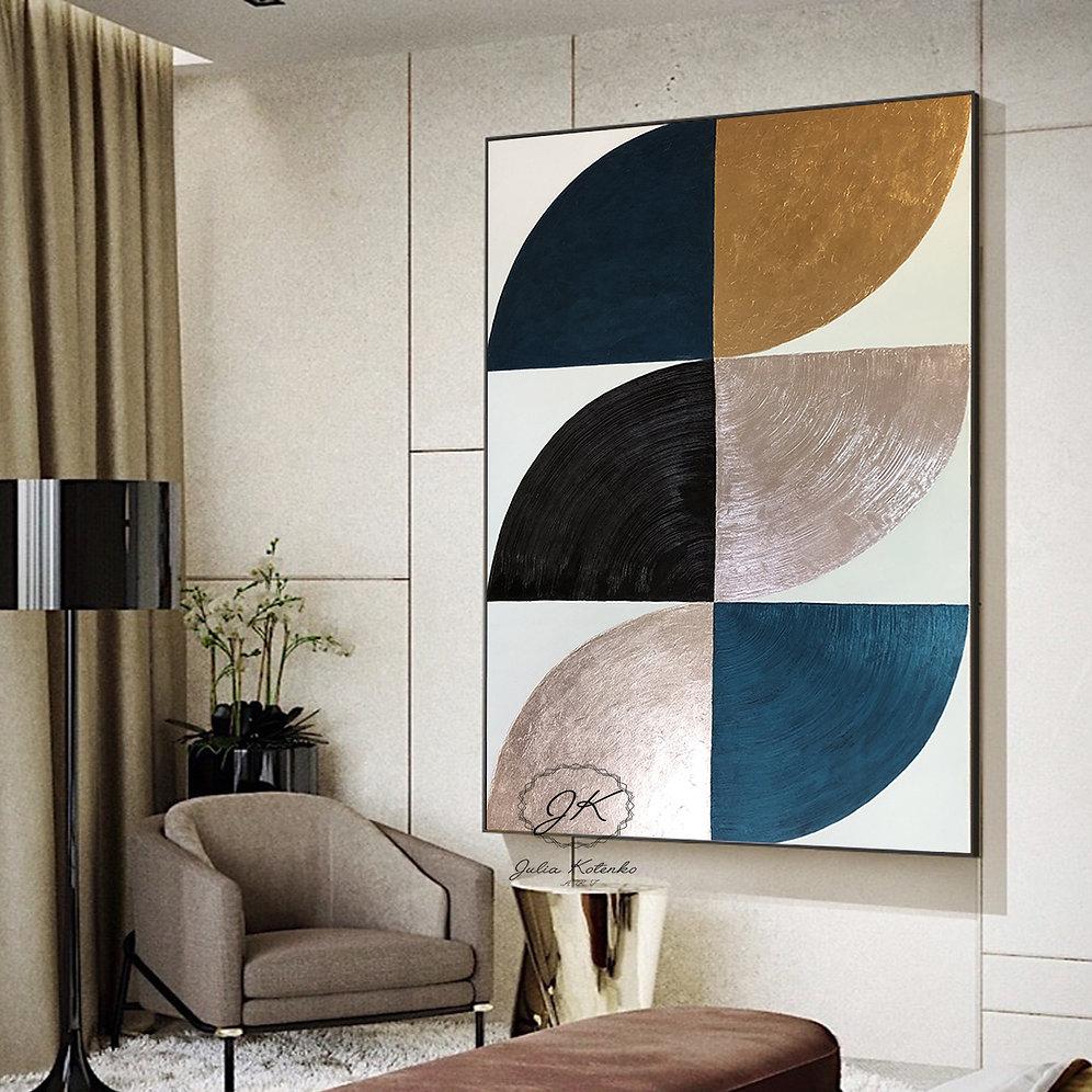 Minimalist Wall Art Texture Painting Extra Large Wall Art