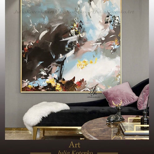Canvas art large,Abstract Painting Original