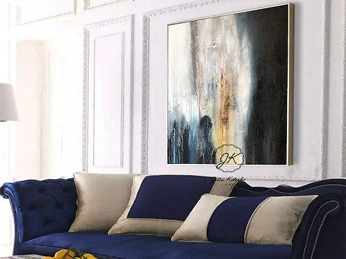 Original Abstract Oil Painting-Modern Decor|Textured Art Decor by Julia Kotenko