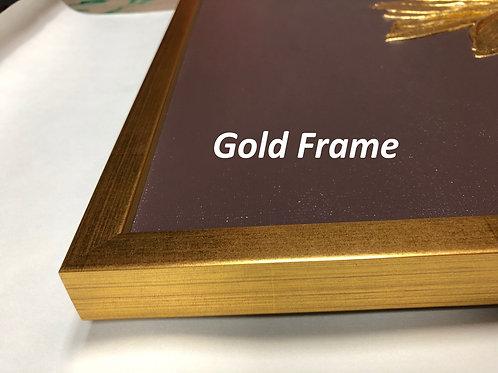 Gold Frame Silver Frame Black Frame White Frame