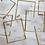 Thumbnail: Cadeau: lijstje met droogbloemen en tekst + kaart