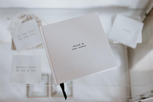 Notitieboek - schreef ik maar boeken