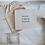 Thumbnail: Cadeautje - tegeltje + goudfolie kaart
