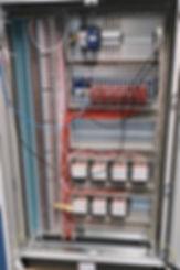 Armoire électrique complète avec système d'enregistrement JUMO