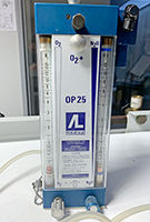 Étalonnage débitmètre oxygène