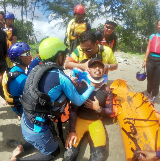 Introduction to SKED - Water Rescue Flotation System.