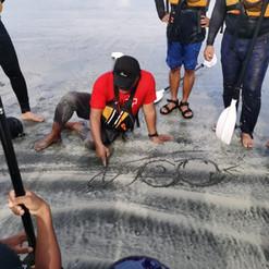 Kayak Fleet Management in Surf Condition Course