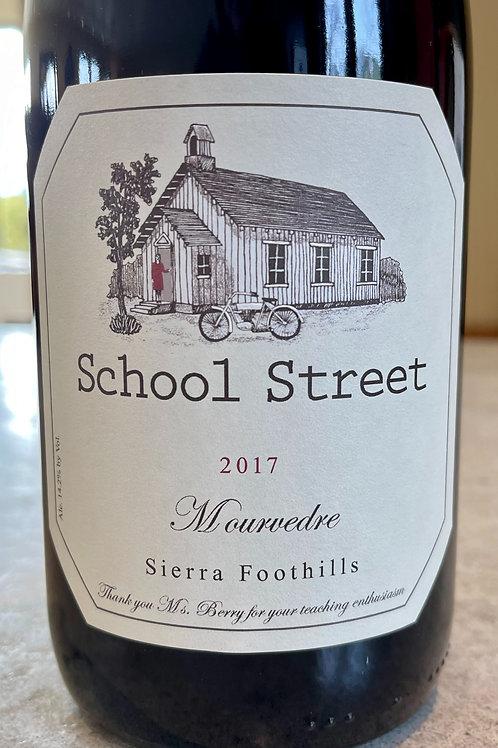 2017 School Street Mourvedre