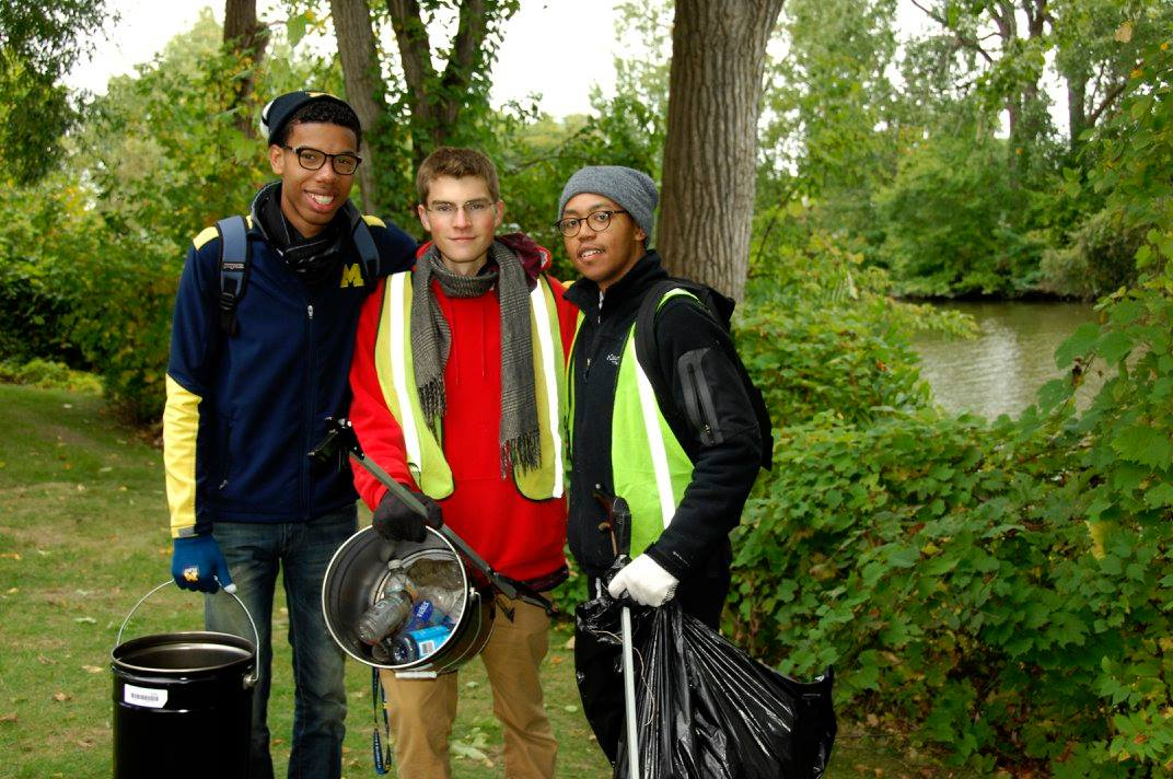 Fall 2015 River Cleanup
