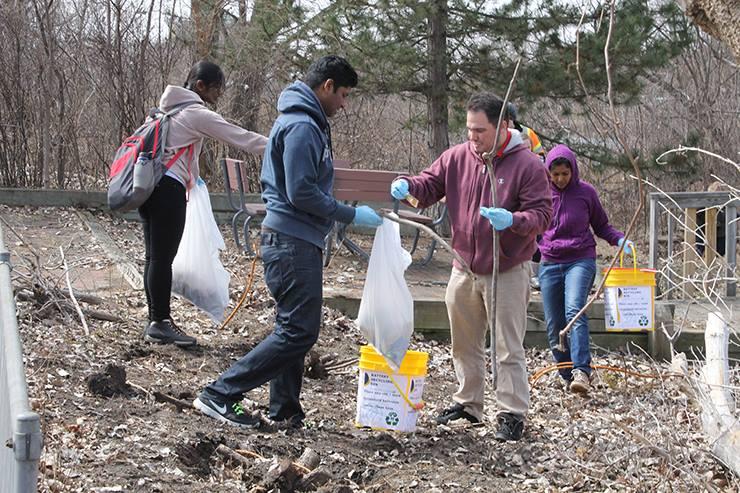 River Cleanup Spring 15