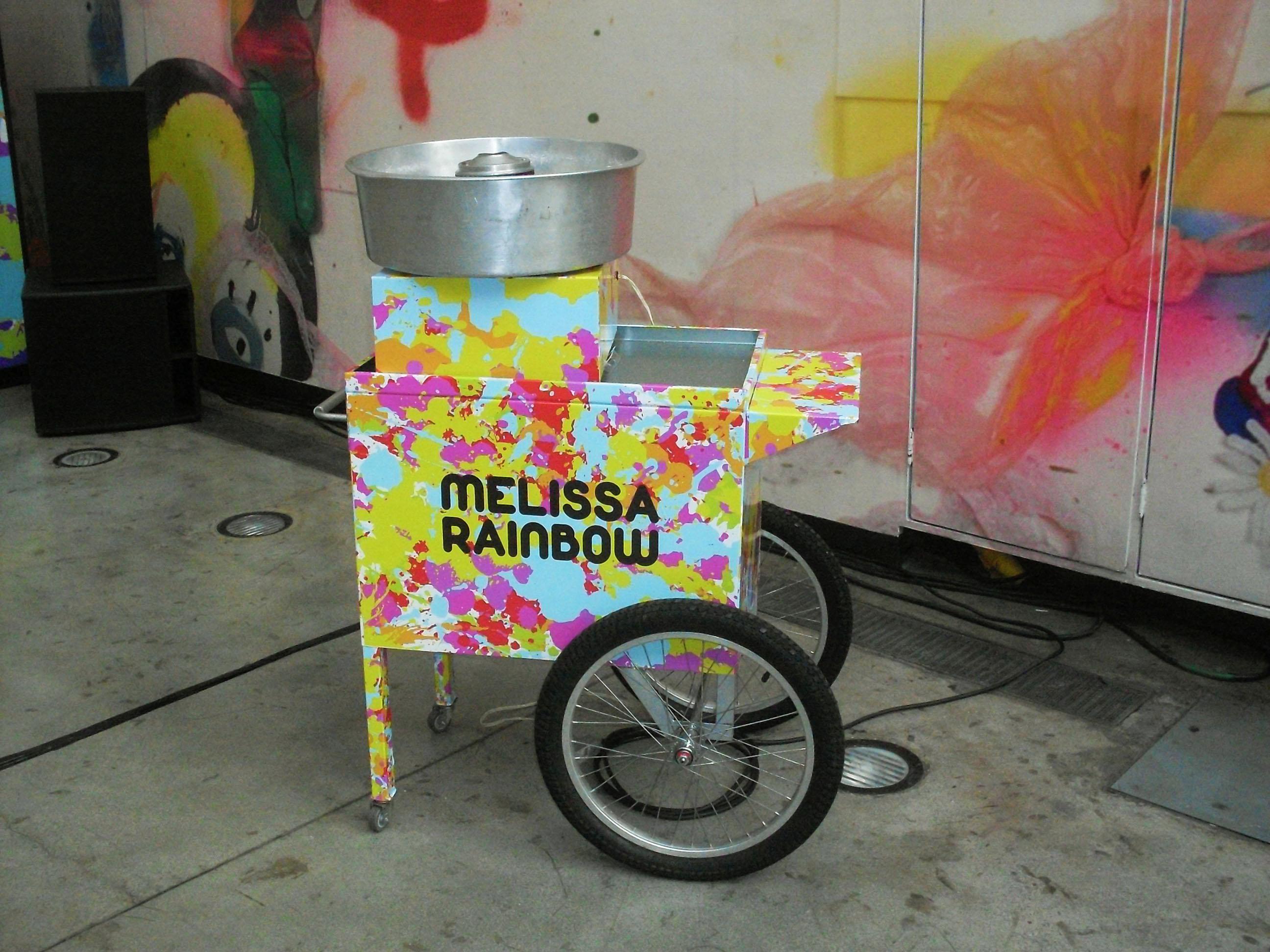 Carrinho de Algodão Doce - Melissa