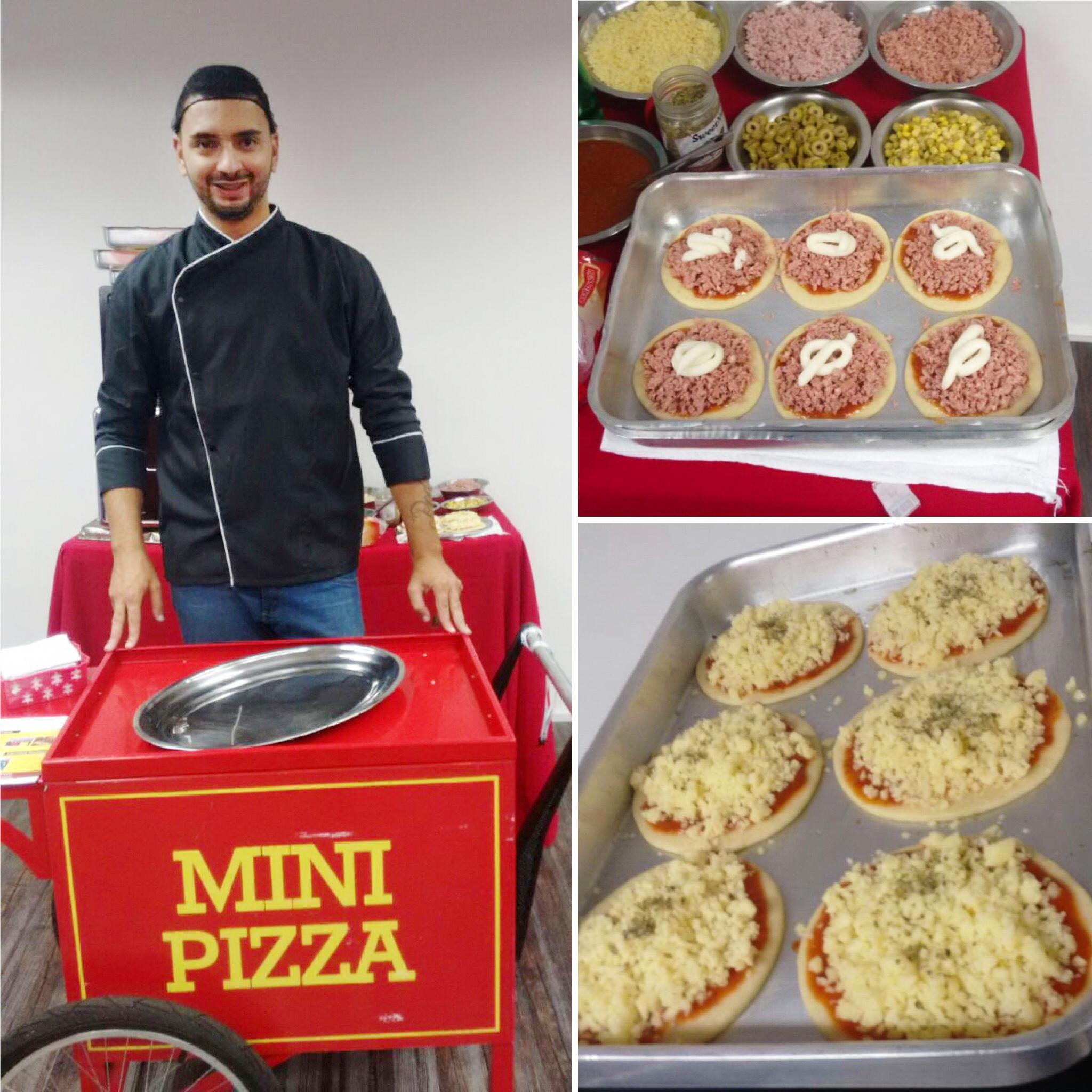 Carrinho - Mini Pizza