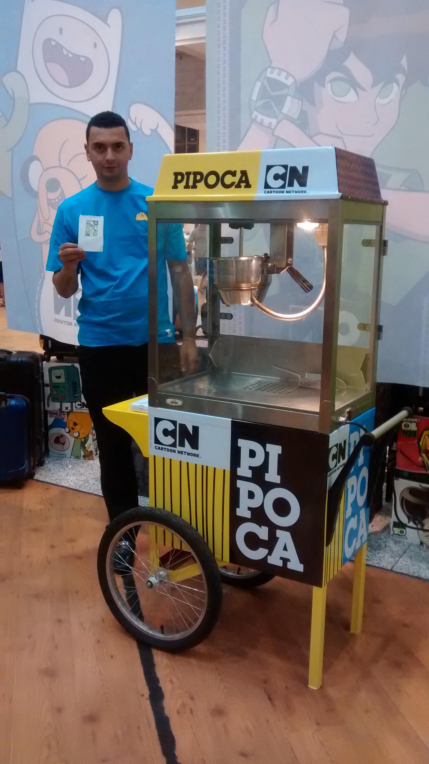 Carrinho de Pipoca - Cartoon Network