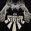 Thumbnail: Tee-shirt noir en coton modal visuel Sparkling Night IKKS