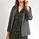 Thumbnail: Veste de costume grise a carreaux prince-de-galles I.CODE