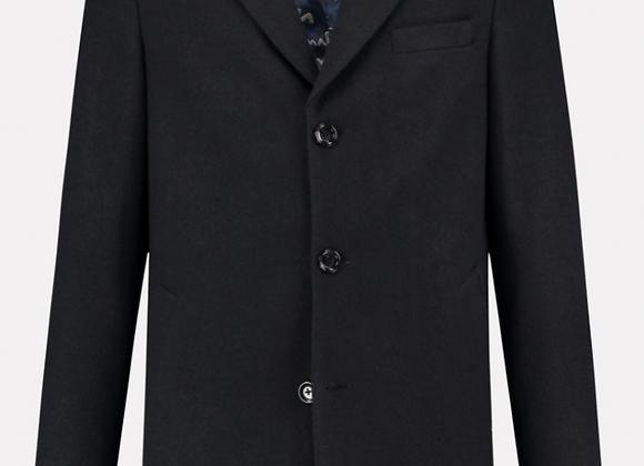 Manteau en laine bleu marine DSTREZZED