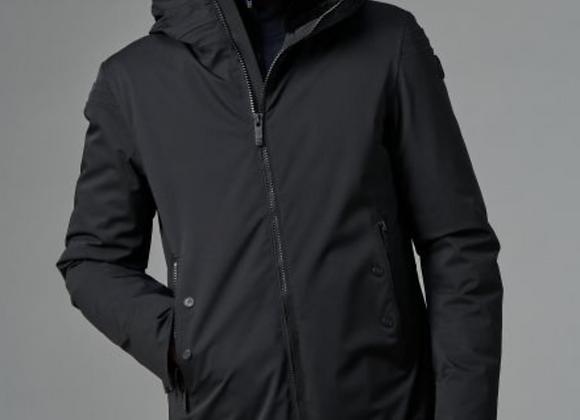 Manteau Gezi Fusalp avec taille ajustable et capuche fourrée