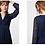 Thumbnail: Robe longue IKKS volantée en voile imprimé floral Ikebana