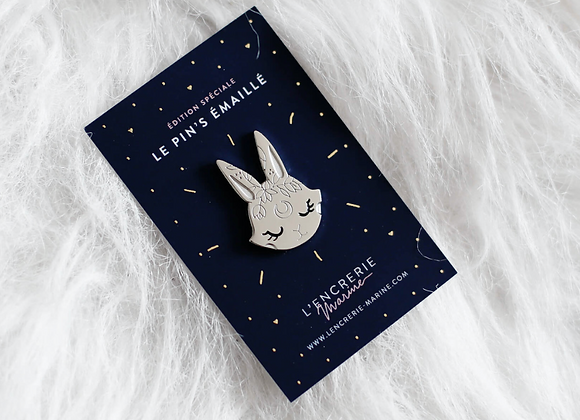 Pin's Lapin Lunaire