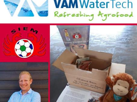 Bijzondere donatie Bram Boogaard en VAM WaterTech