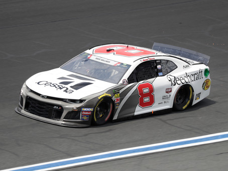 Early contact hinders efforts in Coca-Cola 600