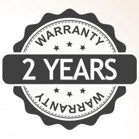 2 year manufacturers warranty