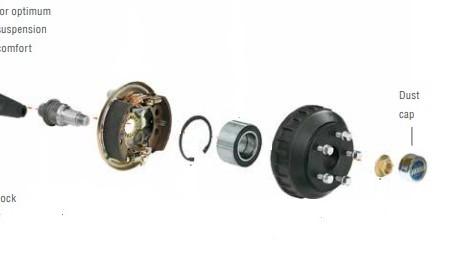 Waterproof sealed bearings