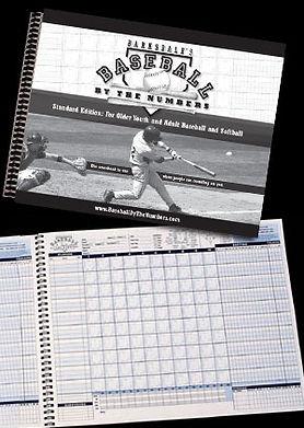 Baseball scorekeeping scorebooks