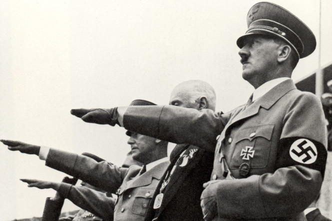 Actual Nazis. Don't do this. [Photo credit: Getty Images]