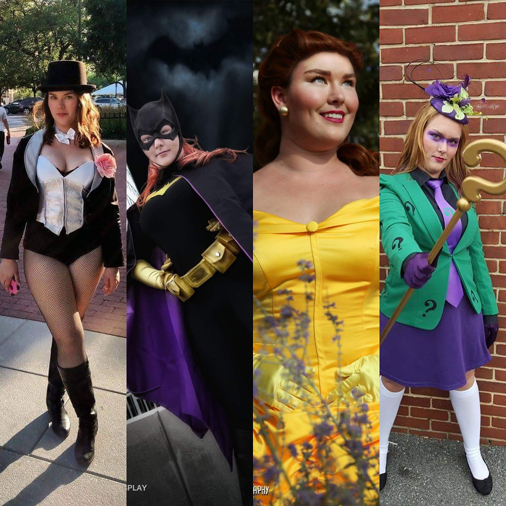 Photo credits: Better With Cosplay, FantasyNCosplay, and Morgan Campbell Photography