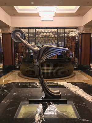 Art Deco sculpture Suncoast Casino