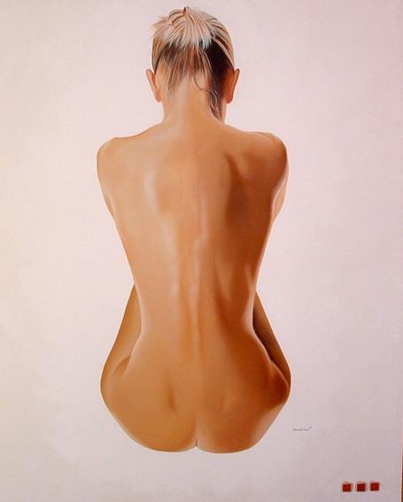 Nude..oil on canvas