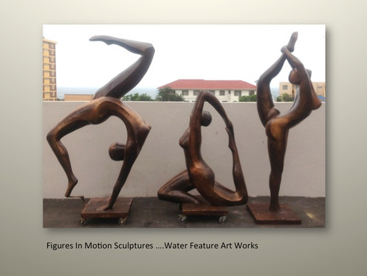 Figures In Motion Sculpture