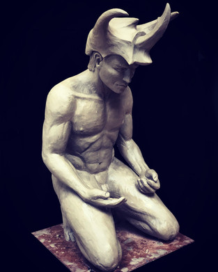 Sculpture in wax