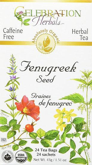 Organic Fenugreek Seed - 24 tea bags