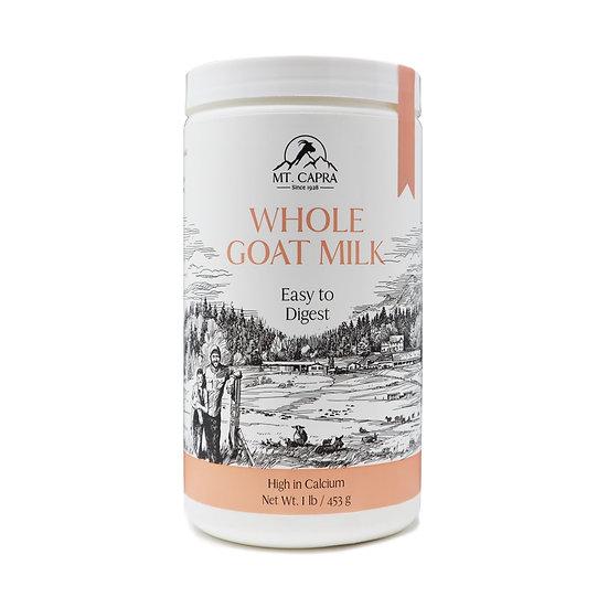 Whole Grass-Fed Goat Milk Powder-
