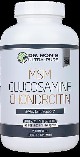 MSM Glucosamine Chondroitin - 200 caps