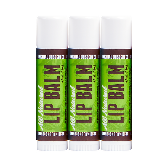 Lip Balm - Unscented - 3 Pack