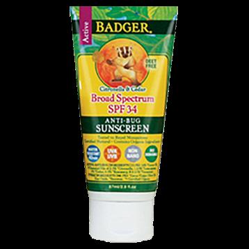 Anti Bug Sunscreen Cream SPF 34 - 2.9 oz