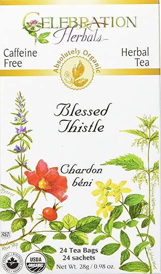 Organic Blessed Thistle - 24 tea bags